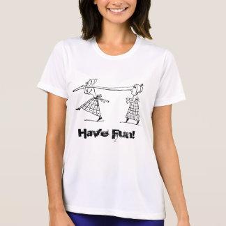 Funny Long Nose Women Activewear T-Shirt