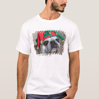 Funny looking pug with tongue hanging out T-Shirt