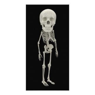 Funny looking skeleton card