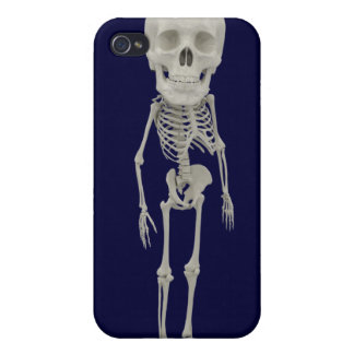 Funny looking skeleton iPhone 4 cover