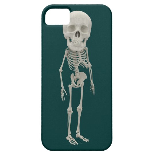 Funny looking skeleton iPhone SE/5/5s case