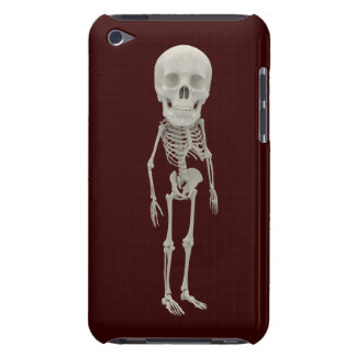 Funny looking skeleton iPod Case-Mate case