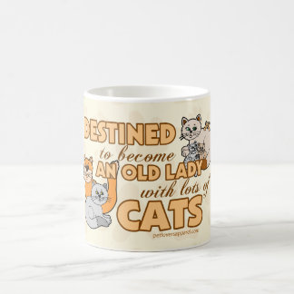Funny Lots of Cats Design Coffee Mug