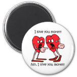 Funny love 2 inch round magnet