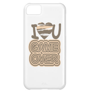 Funny Love Game Over iPhone 5C Cases