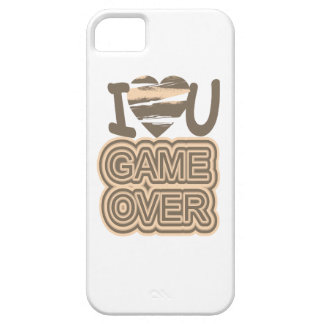 Funny Love Game Over iPhone SE/5/5s Case
