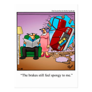 Funny Love & Marriage Humor Postcard