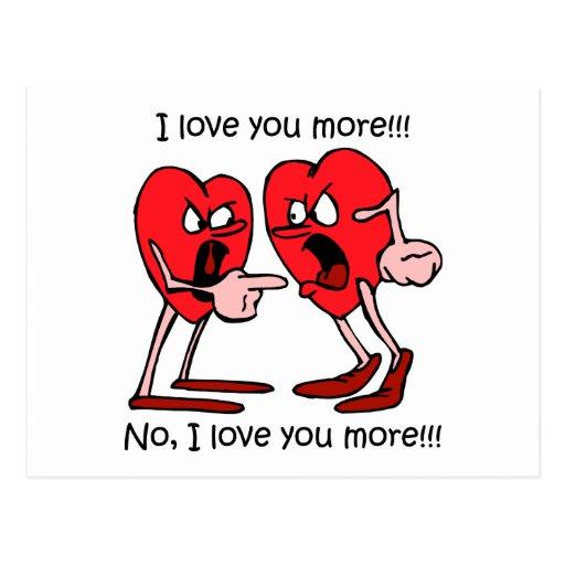 Funny love postcards
