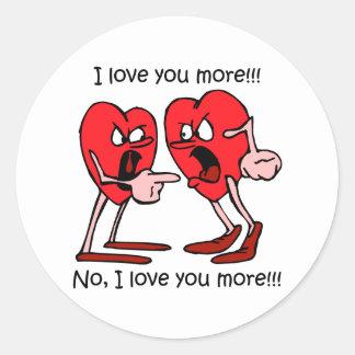 Funny love sticker