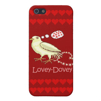 Funny Lovey-Dovey Valentine s Day Dove Cover For iPhone 5