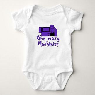 Funny Machinist Baby Bodysuit