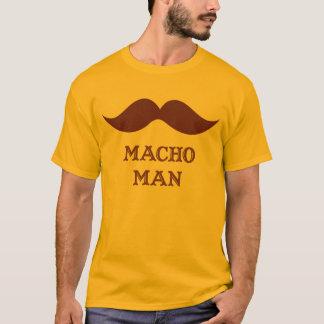 Funny Macho Man Mustache T-Shirt