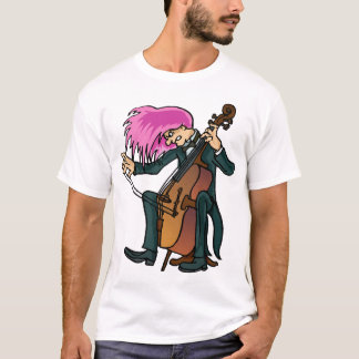 Funny Mad Cellist Cello T-shirt