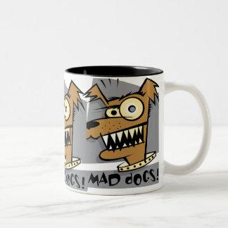 Funny Mad Dog Mug