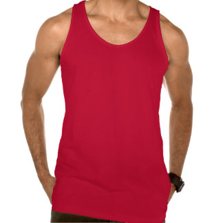 Funny Mad Hatter Mustache American Apparel Fine Jersey Tank Top