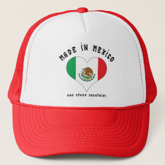 Funny Made In Mexico Trucker Hat