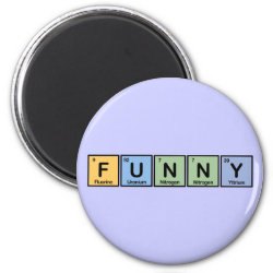 Round Magnet with Funny design