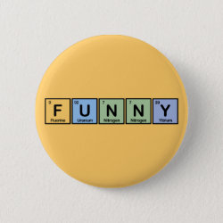 Round Button with Funny design