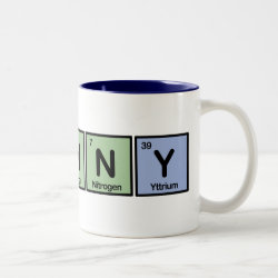 Two-Tone Mug with Funny design
