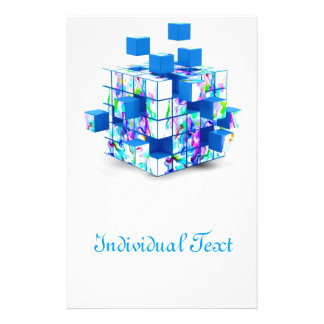 funny magic cube custom flyer