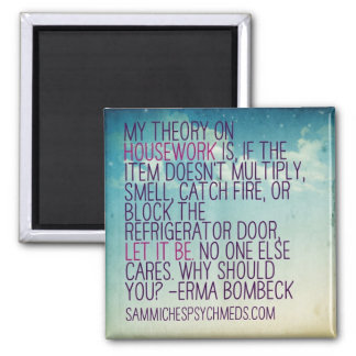 Funny Magnet About Housework