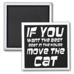 Funny magnets gift ideas bulk discount unique cat