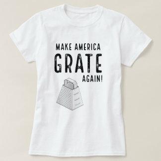 Funny Make America Grate Again Trump Parody T-shirt