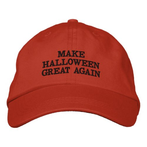 Funny Make Halloween Great Again Hats