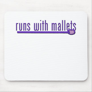 Funny Mallet Mouse Pad