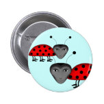 Funny man bugs 2 inch round button