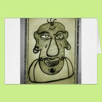 Funny Man Card