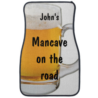 Funny Man Cave Beer Car Mats