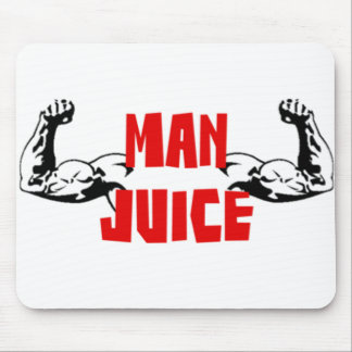 Funny Man Juice Mouse Pad