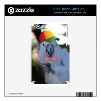 Funny Maquaw Skins For iPod Touch 4G
