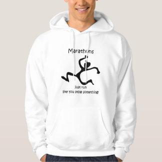 funny marathon hoodie