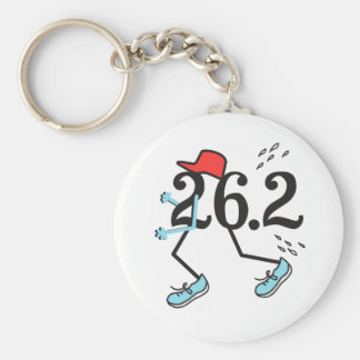 Funny Marathon Runner 26.2 - Gifts for Runners Key Chain