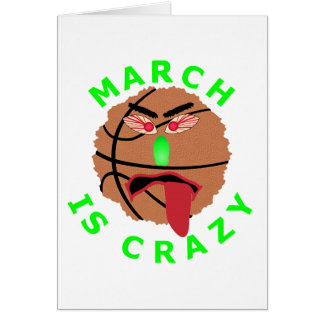 Funny March Basketball Tournament T-Shirts & Gifts Card