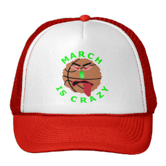 Funny March Basketball Tournament T-Shirts & Gifts Trucker Hat