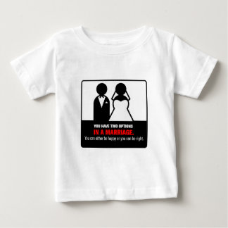 Funny Marriage Baby T-Shirt