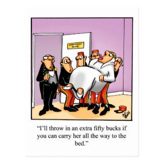 Funny Marriage Humor Postcard