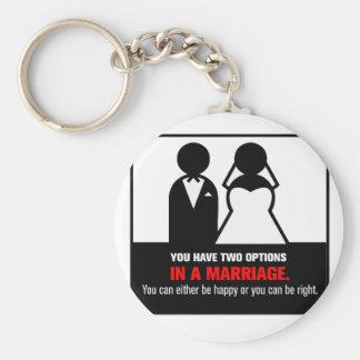 Funny Marriage Keychain