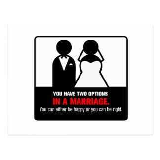 Funny Marriage Postcard
