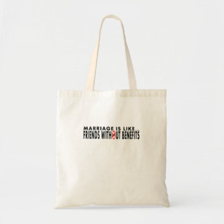 Funny Marriage Themed Tote Bag