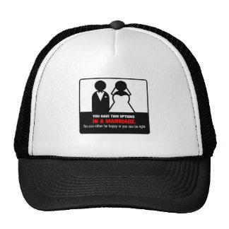 Funny Marriage Trucker Hat