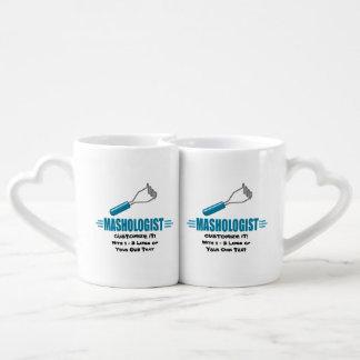 Funny Mashed Potato Couples' Coffee Mug Set