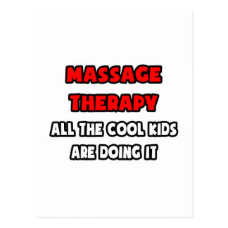 Funny Massage Therapist Shirts and Gifts Postcard