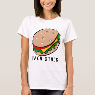 funny matching t-shirt made for each other