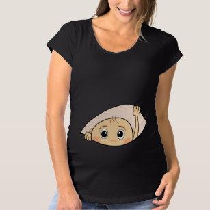 500235180 FUNNY MATERNITY,PREGNANCY,PREGNANT MATERNITY T-Shirt