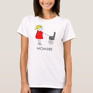 Funny maternity/pregnancy shirt Made2Show: Mom2BE