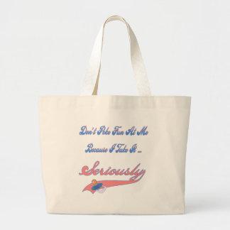 Funny Maternity Tote Bag
